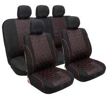 Автомобильные чехлы для сидений, набор, универсальный, подходит для большинства автомобильных чехлов для сидений Arona Ateca altea xl cordoba exeo leon 1 2 3 Toledo Ibiza 6j