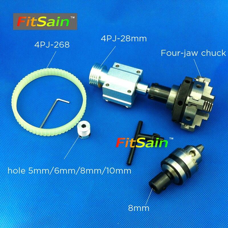 Adaptateur de mandrin de collet d/'alliage de 6 8mm pour couper la 6.35