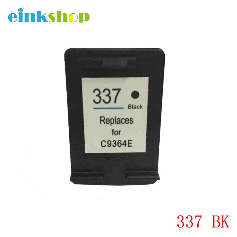 Re-hergestellt 337 Schwarz Tintenpatrone Für HP Deskjet 5940 6940 6980 D4160 Photosmart...
