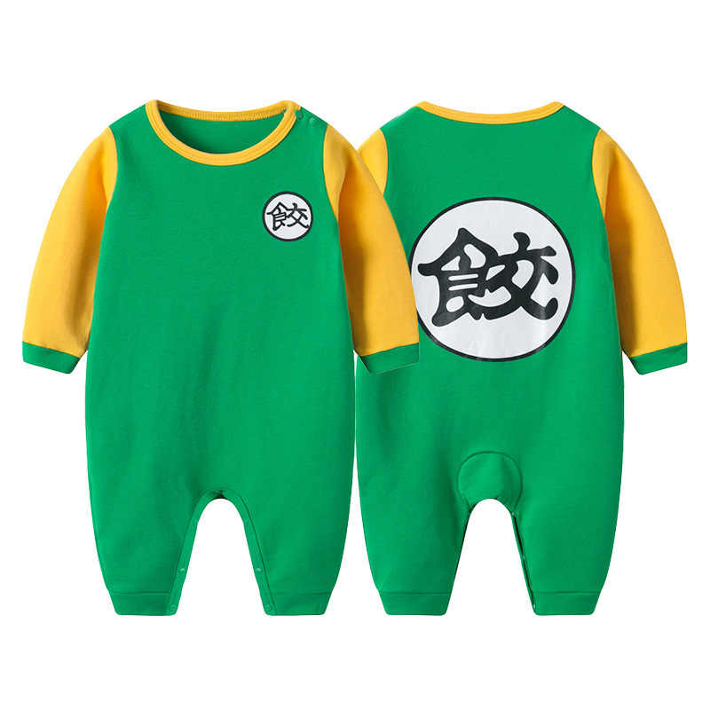 d337e3326 ... 100% Cotton Dragon Ball Baby Rompers Newborn Baby Boys Clothes SON GOKU  Toddler Jumpsuit Chinese