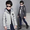 A roupa das crianças, 2016 anos, menino grande chapéu lazer moda estilo puxar a corda mais quente algodão-acolchoado roupas jaqueta