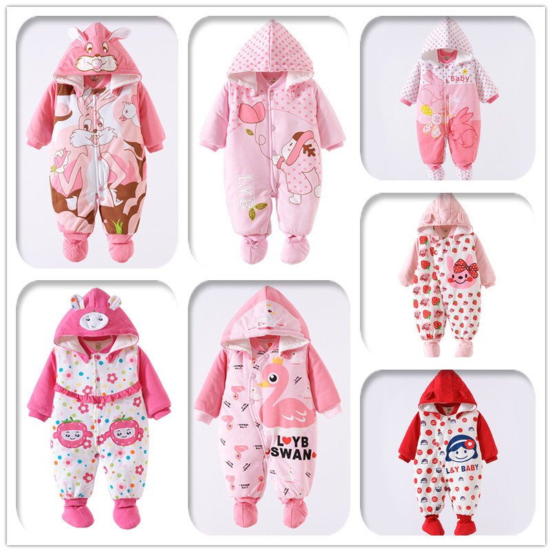 2016 Baby Rompers Winter Thick Climbing Clothes Newborn Boys Girls Warm Romper Knitted Sweater Christmas Deer Hooded Outwear 0 9months autumn winter baby girls boys rompers cartoon cute thick warm hooded jumpsuits newborn clothes infant clothing bc1225