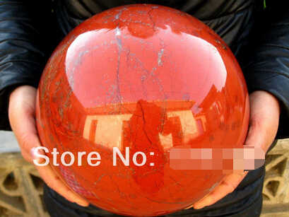 free shipping NATURAL red jasper quartz crystal sphere ball Afric