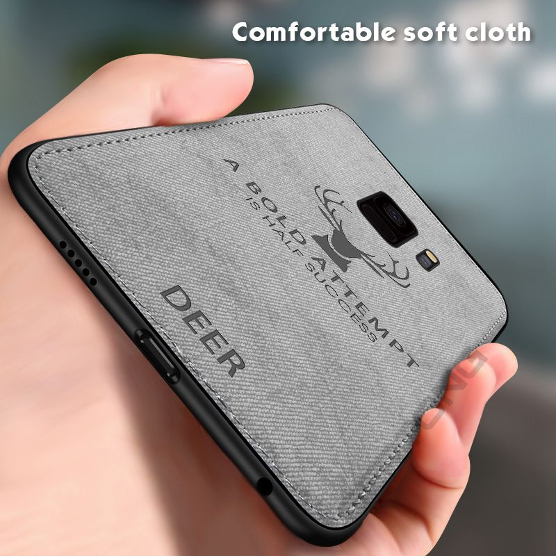 <font><b>Cloth</b></font> Silicon Phone <font><b>Case</b></font> For <font><b>Samsung</b></font> Galaxy S8 S9 J4 J6 <font><b>A8</b></font> A6 Plus <font><b>2018</b></font> Note 8 9 J3 J5 J7 2017 Soft TPU 3D Printing Animal Cover image