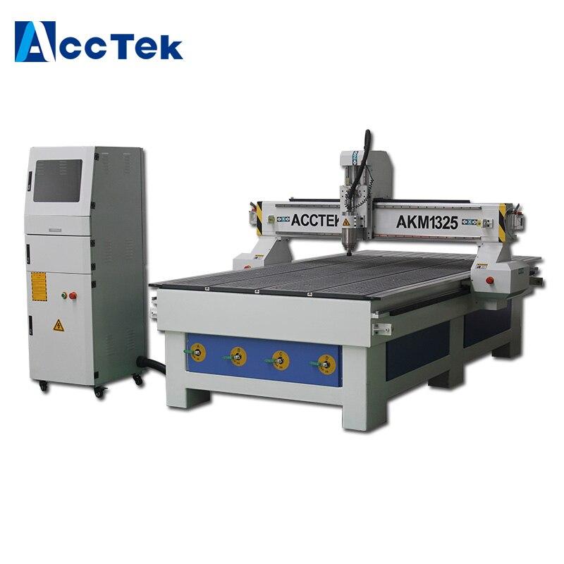 Shandong ACCTEK Machine de gravure 1325 CNC routeur 3kw moteur de broche 1300X2500mm