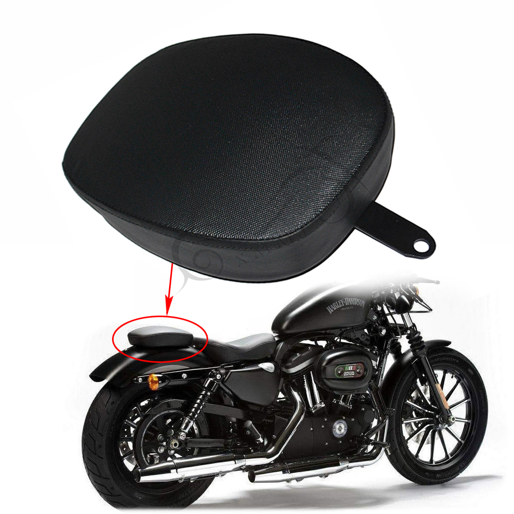 Seat Passenger Pad Cushion Pillion For   Sportster XL1200 XL883 2010-2016