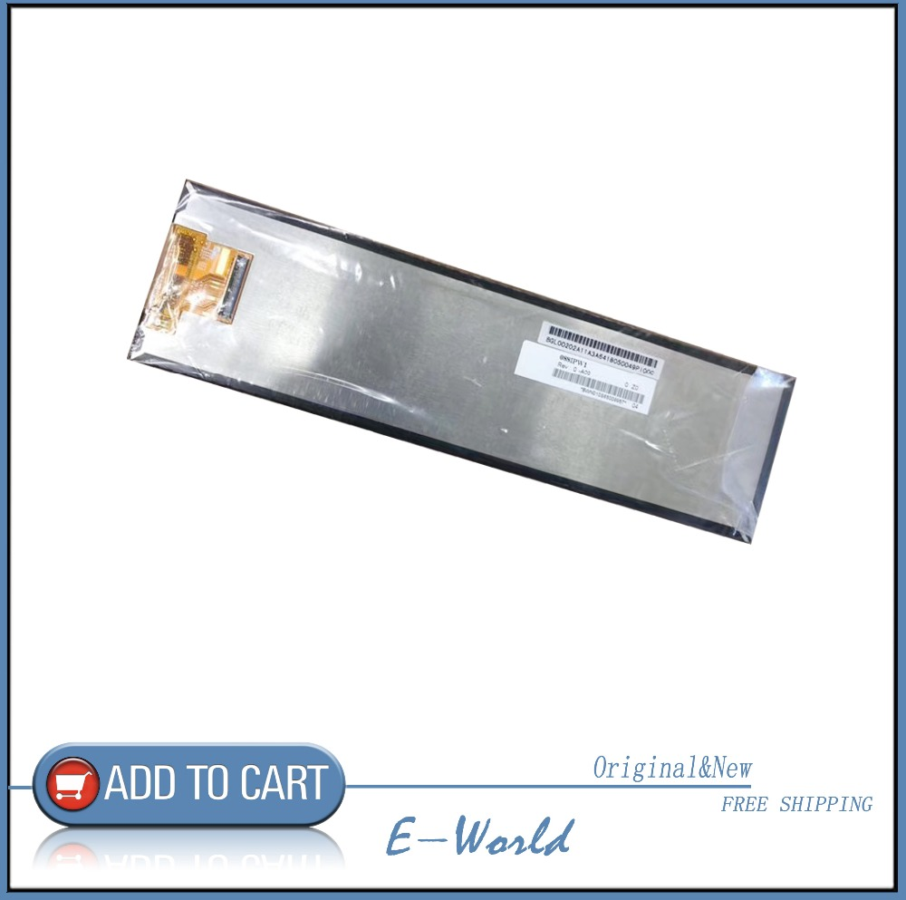 Original 8.8 Inch HSD088IPW1 A00 HSD088IPW1-A00 LCD Screen Display 1920*480 For Car Rear View