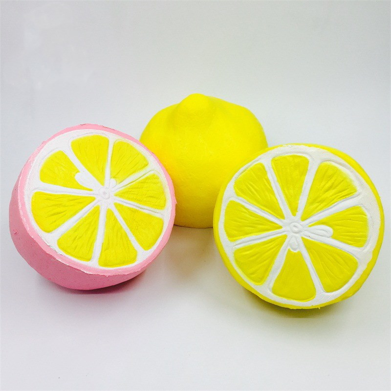 Squishy Lemon Toys Squishy Cute Fruit Slow Rising Decoration Phone Strap Pendant Squishes Gift toys doll Reduce Stress Toy