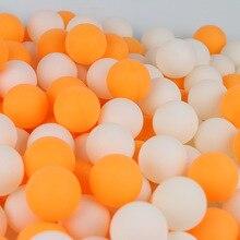 30 50 100 Pcs 2-Star 40+mm 2.8g Table Tennis Balls Ping pong Ball White Orange Pingpong Ball Amateur Advanced Training Ball