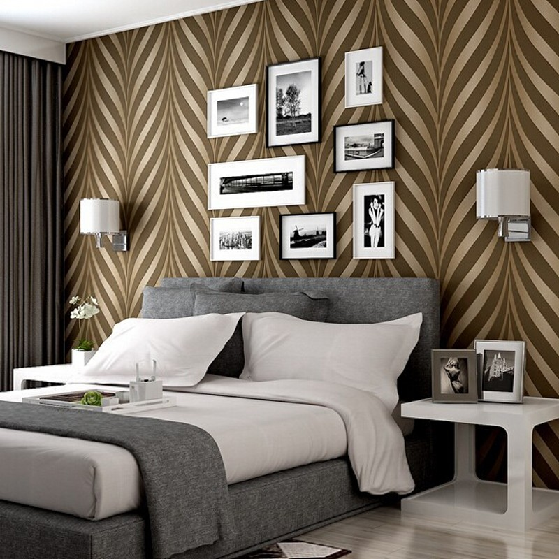 Beibehang New High Quality Modern Luxury Photo 3d Striped Wallpapers Glitter For Walls Tapete Papel De Parede Home Decor R380
