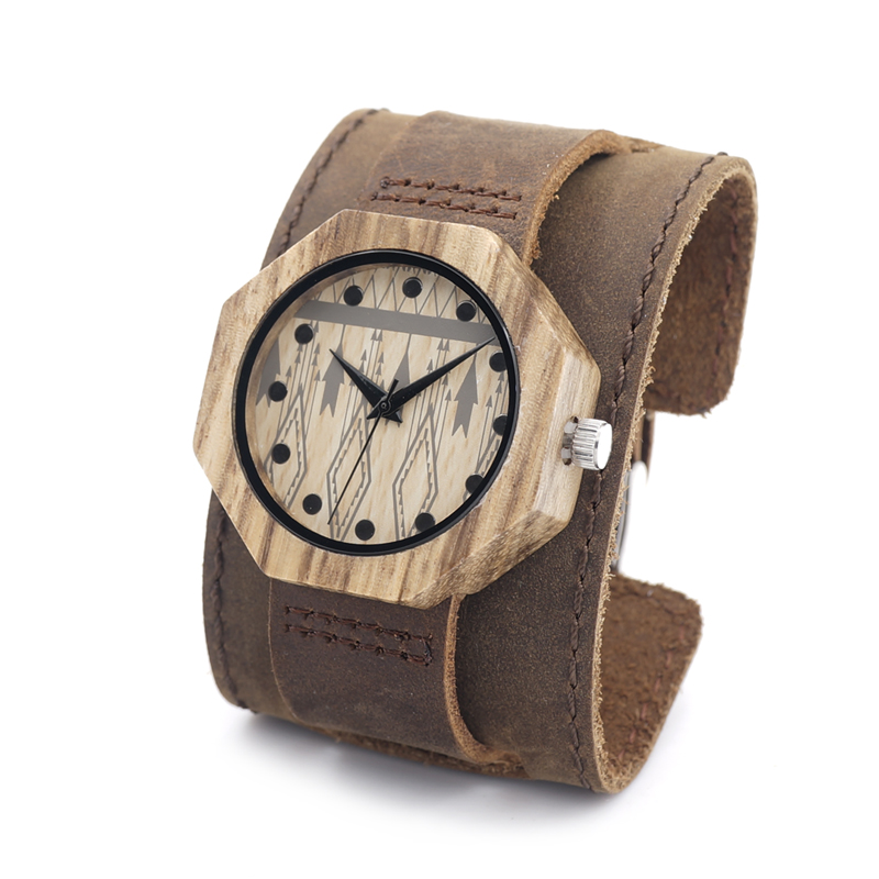 ФОТО BOBO BIRD D04 Environment friend wood watches Intelligent Healthcare Handmade Antique Wooden Women's men's Wristwatches