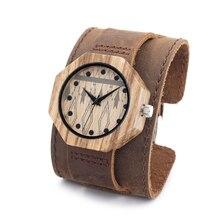 Бобо Птица D04 друг Окружающей Среды древесины часы Умный Здравоохранения Ручной Работы, Старинные Деревянные женские мужские Наручные Часы