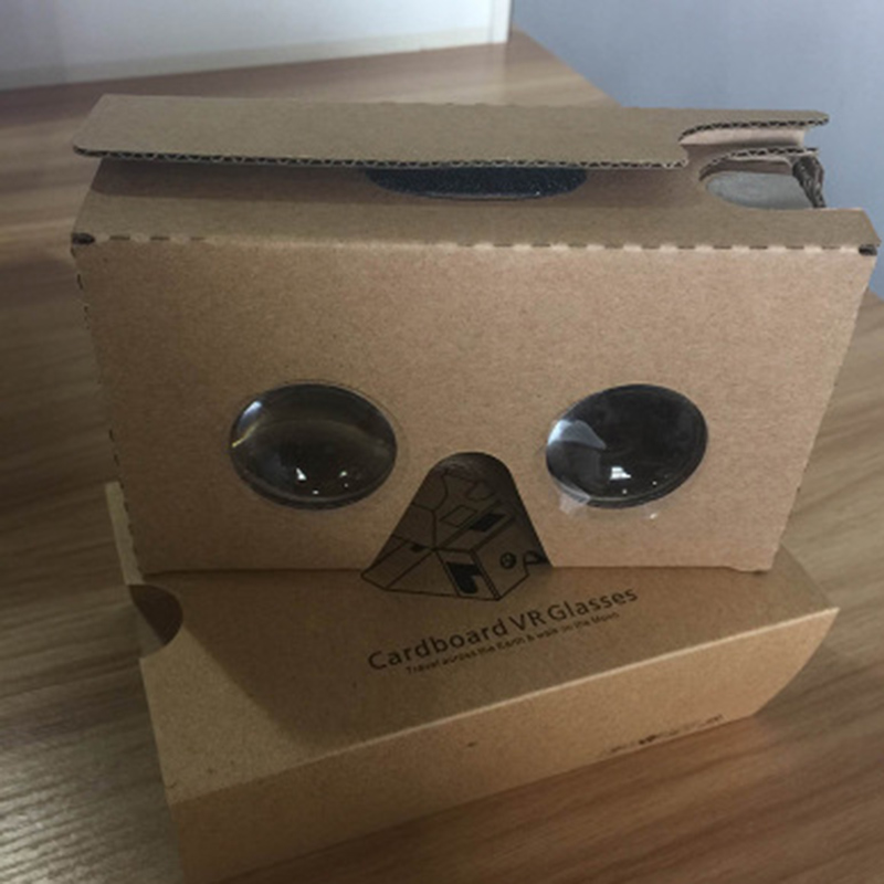 google cardboard 2.0 vr headset 3d glasses virtual reality glasses for 3.5-6.0 inch smart mobile phone free shipping 20-60 days