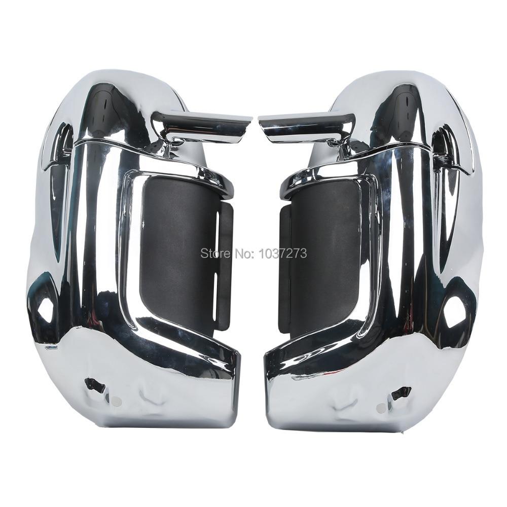 Chrome Coborârea inferioară a piciorului cu ventilație Pistă - Accesorii si piese pentru motociclete
