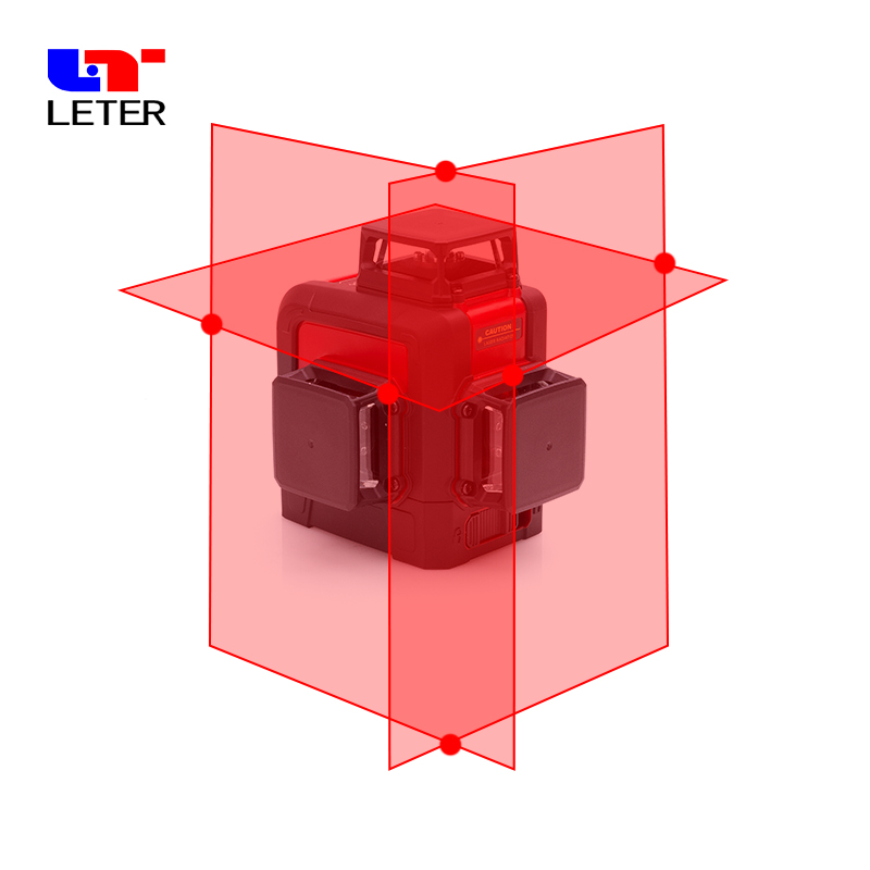 NEW leter 3D Laser Level Cross Line Laser Projectors laser line 360 degree laser цены