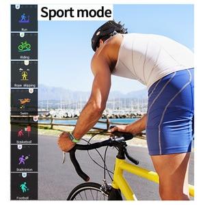 Image 3 - 스마트 스포츠 시계 m21 심장 박동 팔찌 혈압 수면 모니터 피트니스 트래커 방수 안드로이드 ios 컬러 스크린 밴드