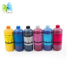 Winnerjet 500ML/bottle x 6 color WaterProof Pigment ink for Epson stylus pro 10000 10600 10000cf printer