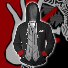 Game Persona 5 Cosplay Akira Kurusu Fukuyama Jun Anime Hoodie Costume Sweatshirt