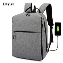 Anti-theft Male 15.6 Inch Laptop Notebook Backpack PC Bags USB Charging Travel Waterproof Backpack Business School Bag Men Women(China)