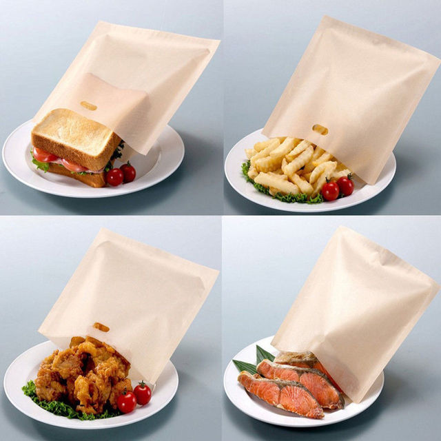 Toaster Bags for Grilled Cheese Sandwiches 2