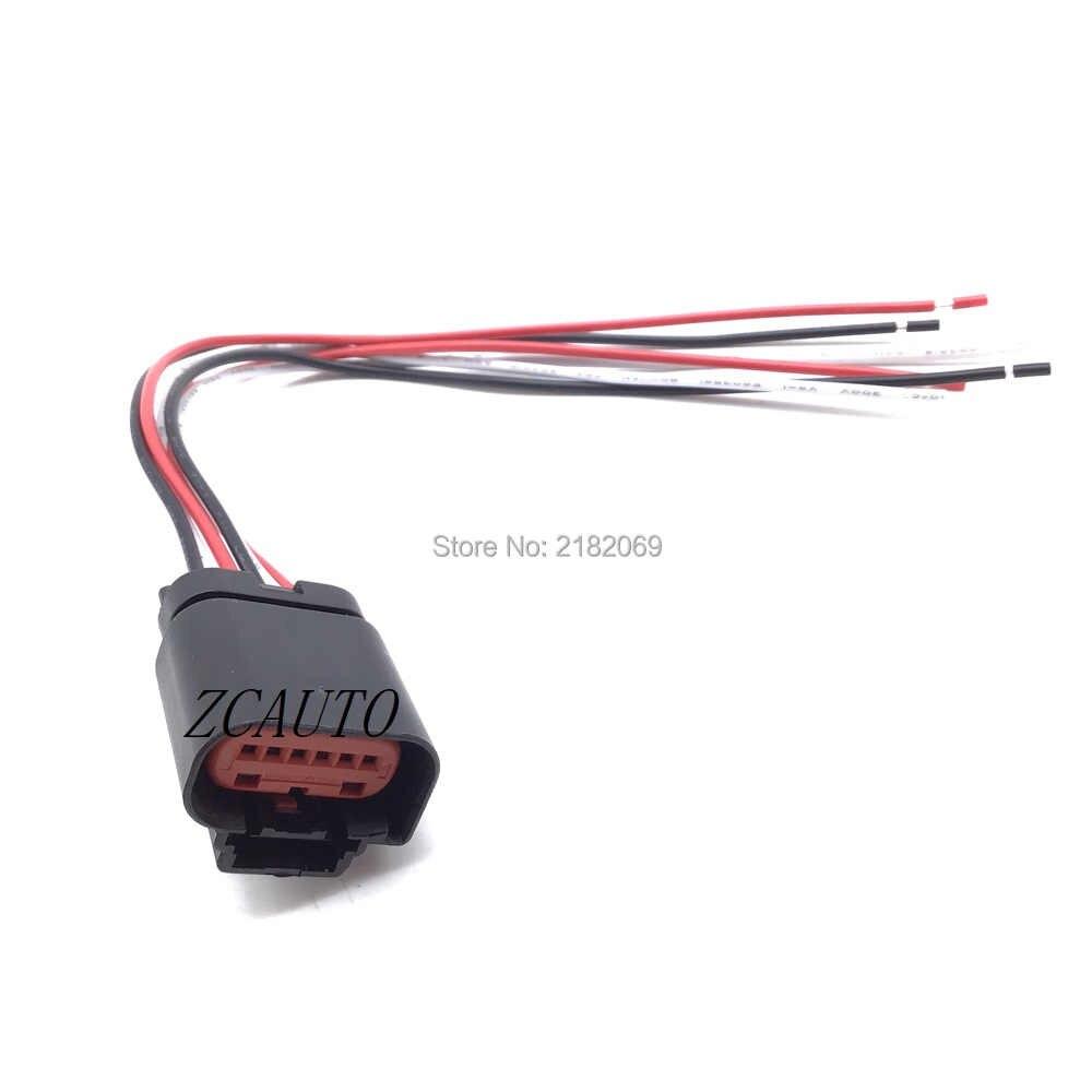 MAF Hava Kütle Akış Sensörü Kablolama konnektör kablo tesisatı Pigtail Tak Için Citroen Fiat Ducato Ford Volvo S80 Peugeot Land Rover