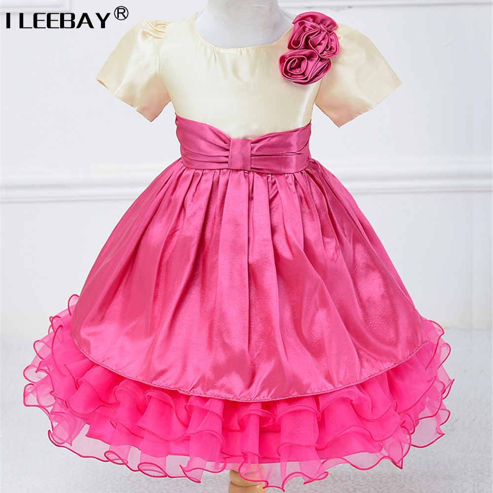 Summer Fashion Baby Cute Clothes Girls Evening Dress Children Wedding Lace Costume Flower Girl Princess Tutu Dress Kids Vestido вечернее платье mermaid dress vestido noiva 2015 w006 elie saab evening dress