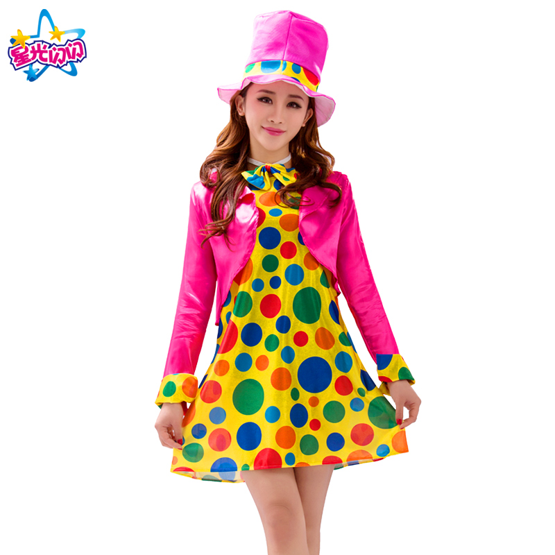 NoEnName Gratis forsendelseHoliday Cosplay Party Dress Up Clown Suit - Kostumer - Foto 3