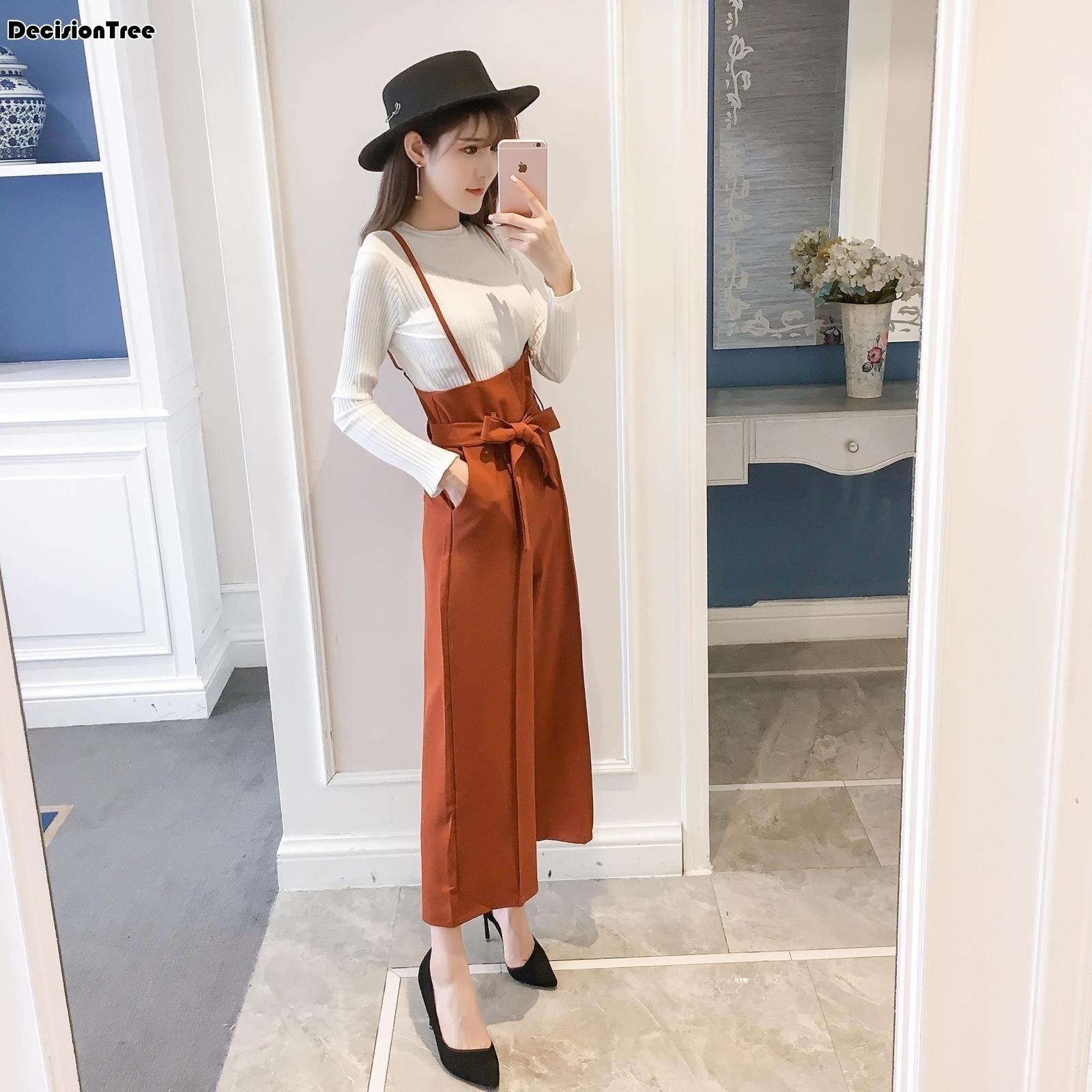 2019 nouveau denim taille haute femmes bretelles pantalon effiloché noir sexy barboteuses pour femmes combishort femmes combinaisons
