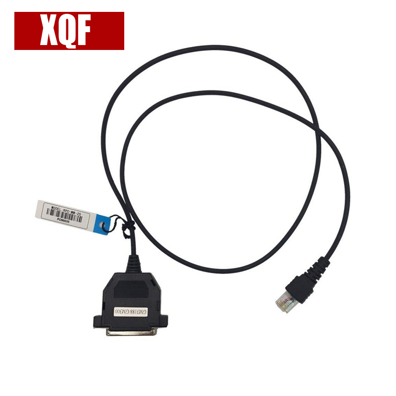 XQF Programming Cable For Motorola GM300 Writing Frequency Line DB25 Interface SM120 GM338 GM3188 SM50