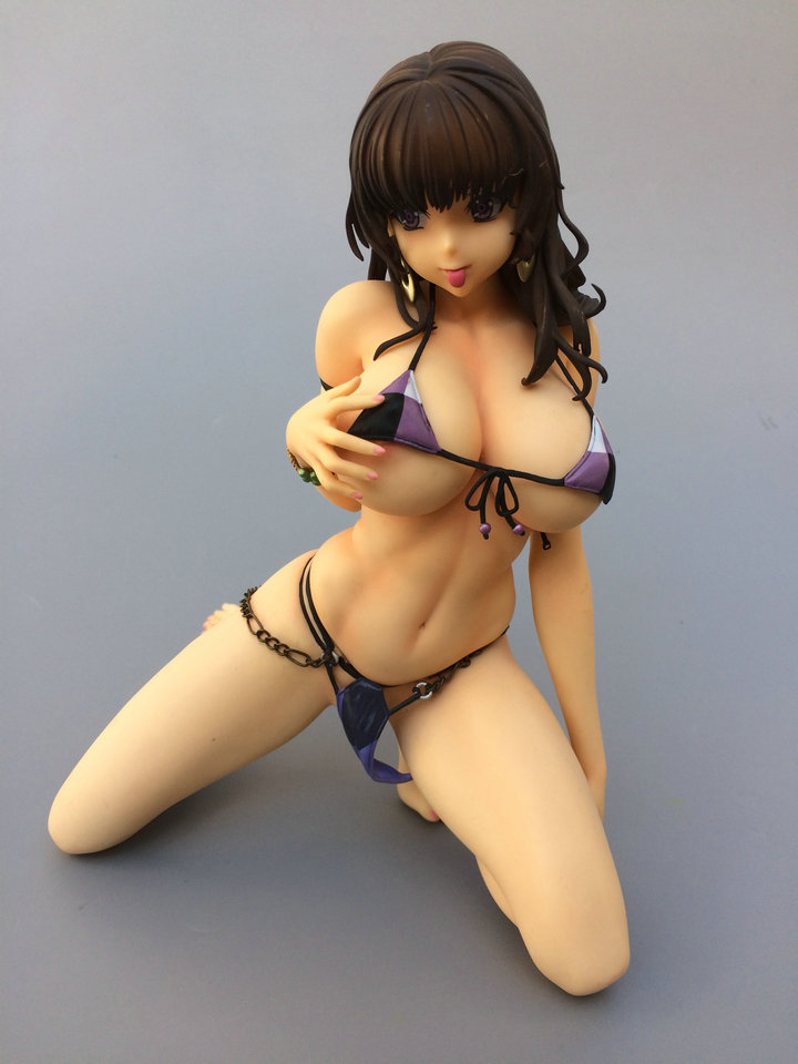 22CM Japanese sexy anime figure swimsuit bikini ver action figure collectible mdoel toys for boys sitting position sexy girl action figure super sonic swimsuit ver sexy pvc anime figure bikini warriors action figure