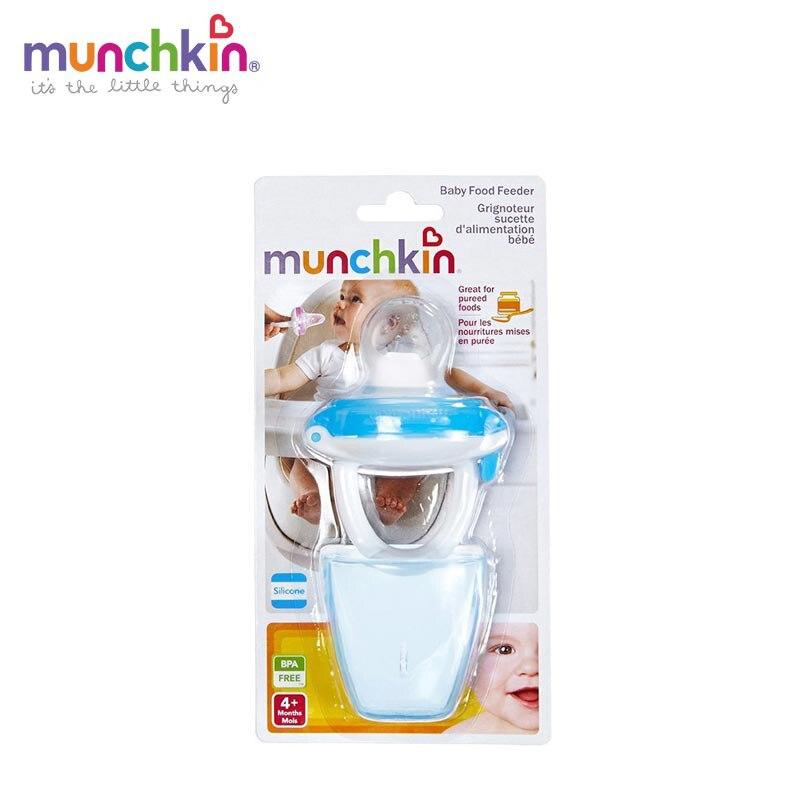 Munchkin bebé de silicona bebé alimentación alimentador bebé masticar Infante frutas hortalizas chupete herramienta color aleatorio Send1 cuenta