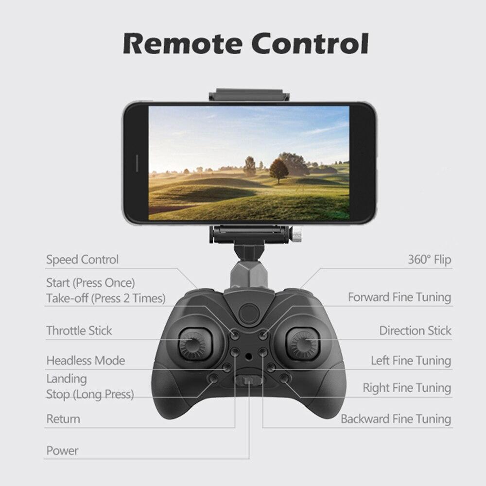 Mini Pocket wifi FPV Quadcopter Foldable Remote Control Drone Camera 2.0 mp 12