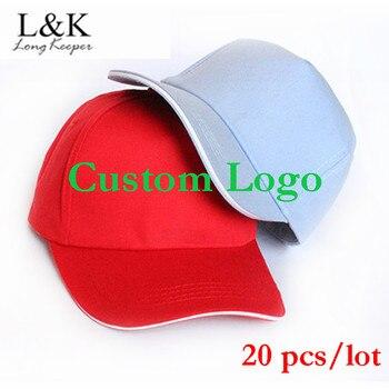 Long Keeper 2019 New Arrival Golf Baseball Caps Custom Logo Sports Hats For Men Women Snapback Outdoor Solid Gorras 20pcs/lot