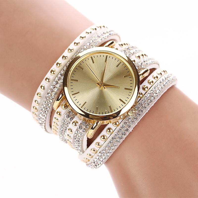 Luxury Brand Women's Watches Crystal Bracelet