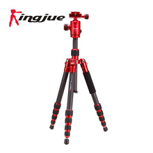 Mini Carbon Fiber Tripod  Digital camera Stand with Ball Head Light-weight and Save Place for Outsie Touring and Mountain climbing CC-229  Kits