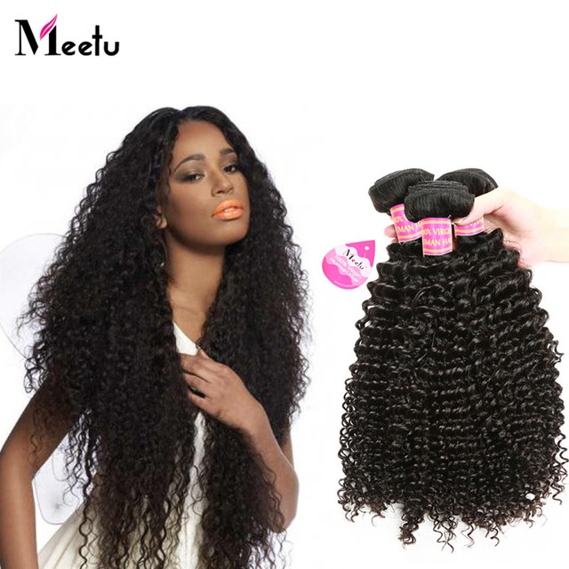 Cool Style Peruvian 4bundles Deal Virgin Curly Hair Natural Black