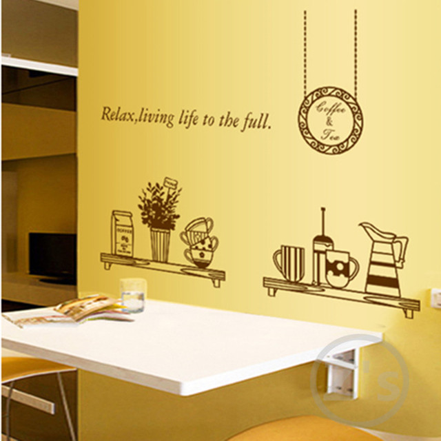 Dining Room Wall Decals Removable Wall Sticker Home Decoration Adhesives  Art Mural Kitchen Vinyl Utensil Wallpaper Part 49