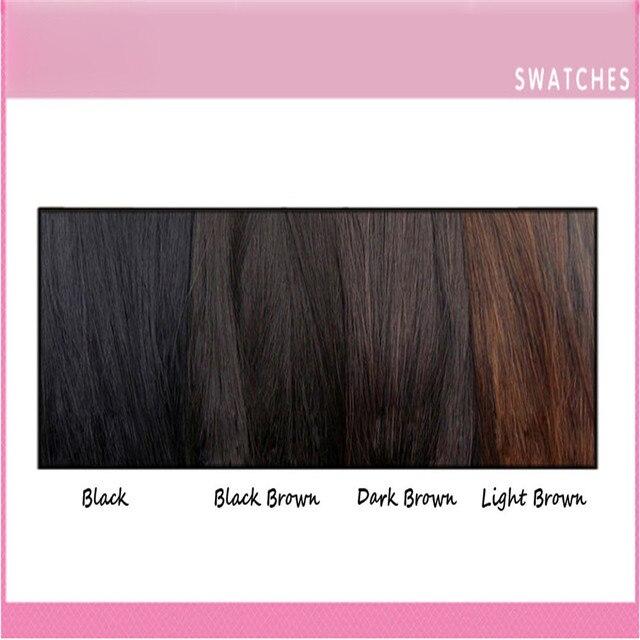 Girls Clip In Front Bang Fringe Hair Extension 5