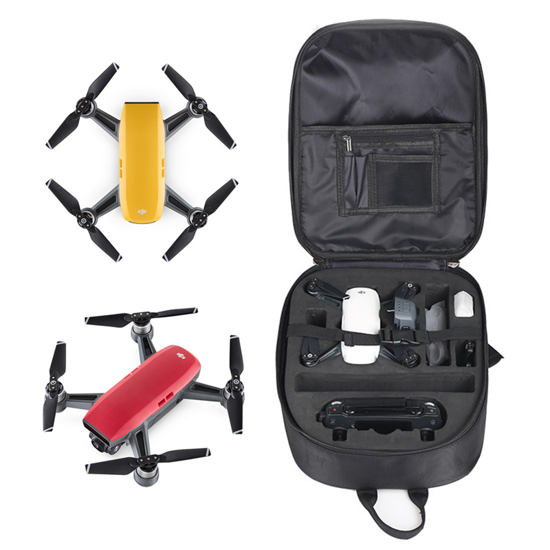 DJI Spark Drone Case Waterproof Shoulder Bag Carrying Hardshell Storage Backpack for DJI Spark Accessories Transmitter Battery for dji spark accessory waterproof hardshell backpack abs case bag rc spare parts suitcase box dji spark accessories