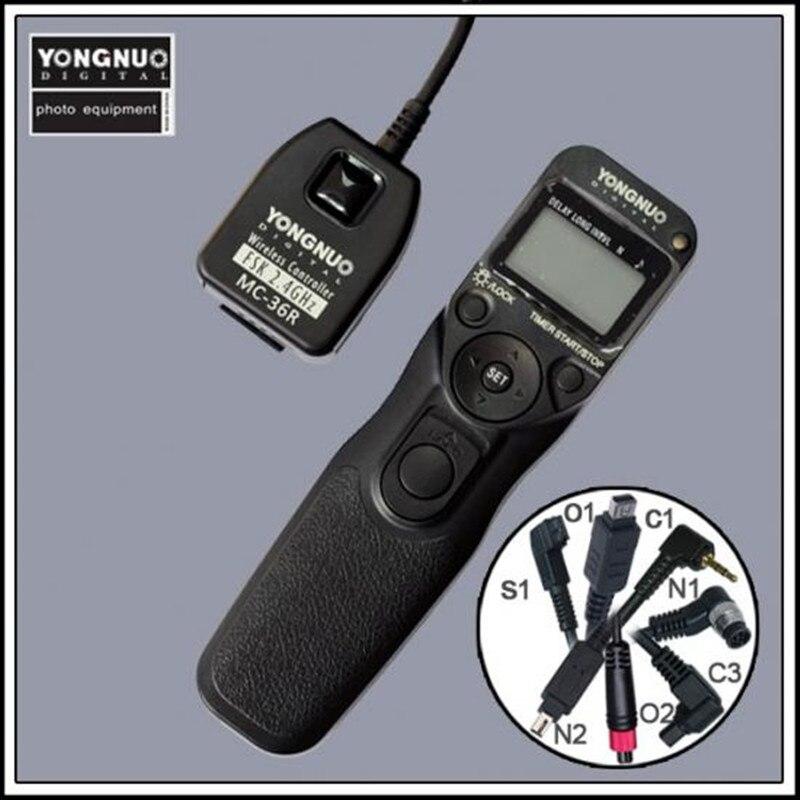 Yongnuo MC 36R cordon sans fil pour Nikon pour CANON 7D, 50D, 40D, 30D, 5D, 20D, 10D, 5D Mark II, 1 DMark IV, EOS 3, D2000-in Déclencheur from Electronique    2
