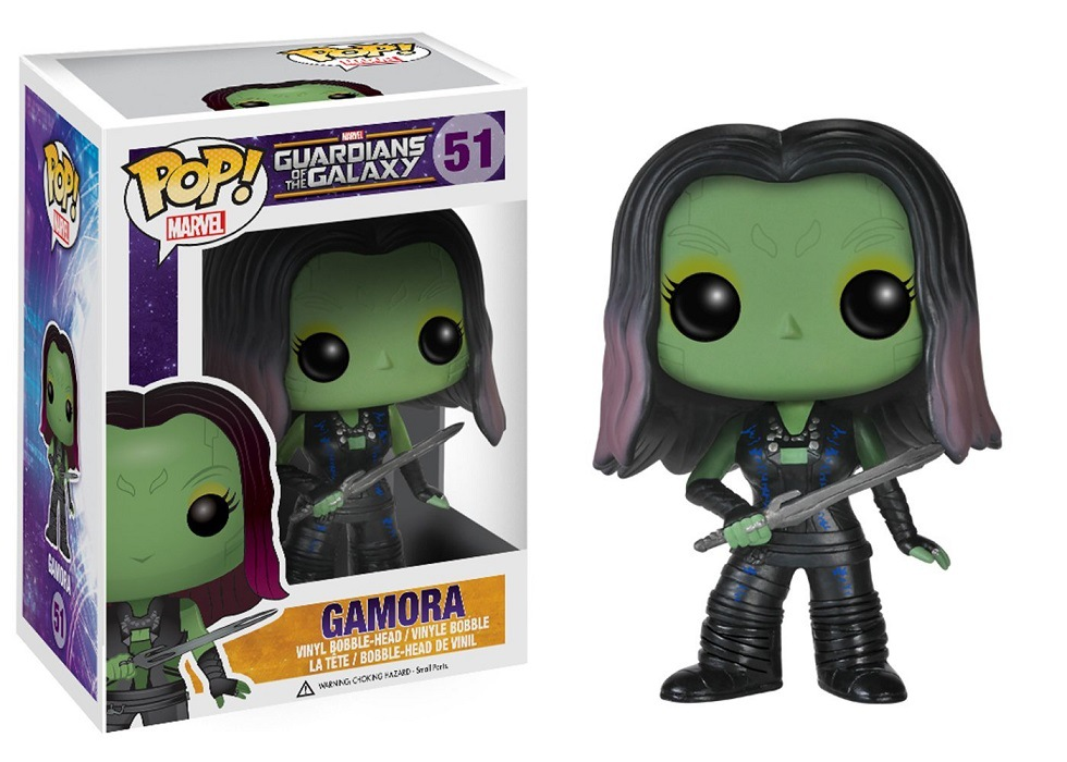 Funko POP Guardians Of The Galaxy & GAMORA Action Figure Decorative Model Toy Cheap Price No Box(China)
