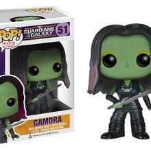 Funko POP Guardians of the Galaxy& GAMORA Фигурка декоративная модель игрушки дешевая цена без коробки