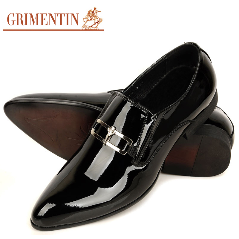 aliexpress buy mens dress shoes luxury brand patent