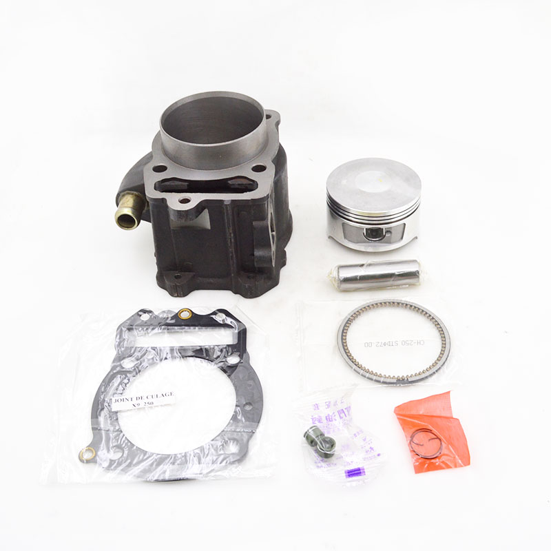 High Quality Motorcycle Cylinder Kit For Honda CH250 KS4 CFMOTO CF250 CH CF 250 250cc Water-cooled Engine Spare Parts high quality motorcycle cylinder kit for yamaha majesty yp250 yp 250 250cc engine spare parts page 7