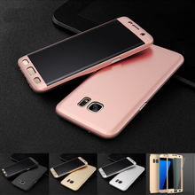 For Samsung galaxy s6 s7 edge case 360 Degree full Protective Cover+Tempered Glass For Samsung J5 J7 Prime 2015 2016 Note 3 4 5