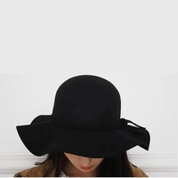 Wool Caps Fedoras Hofn S Stetson Beach Floppy Wide Brim Sun Hat Foldable With Tie