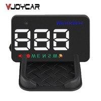 VJOYCAR A5 China Melhor GPS Hud Head Up Display GPS Velocímetro Do Carro Bússola Sobre o Alarme de Velocidade do Odómetro Do Projetor Com Adaptador
