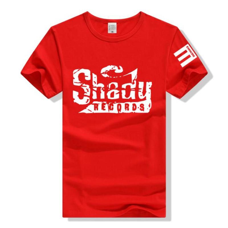 Men's Clothing 2018 Summer New Cotton Cozy Tshirt Eminem Em Not Afraid Slim Shady Hip-hop Rock Show Short Sleeve T-shirt Epacket Fast Delivery T-shirts