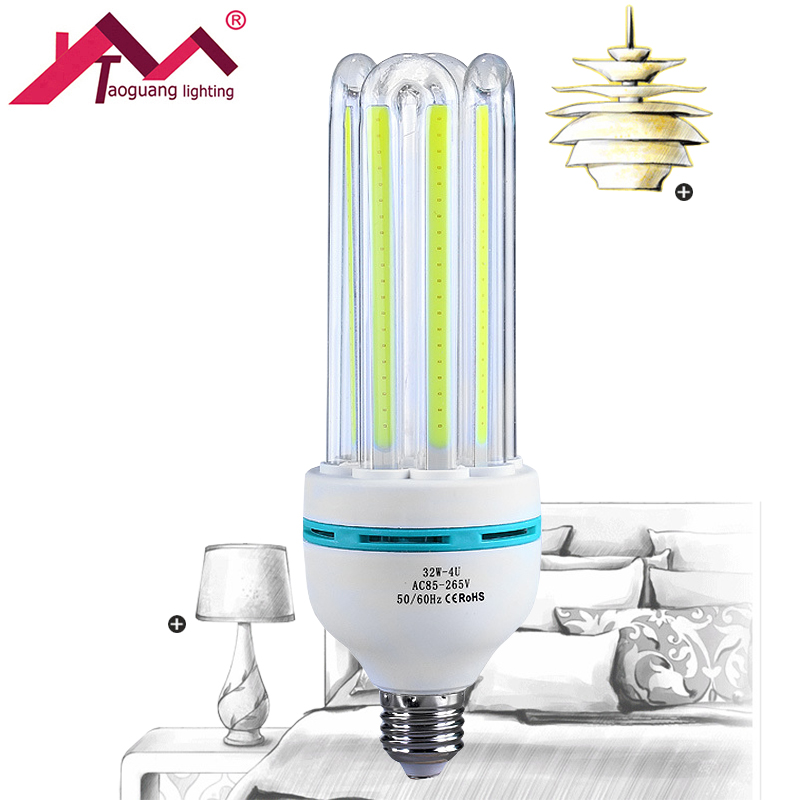 E27 5W 7W 9W 12W 16W 24W 30W LED COB Energy Saving Lamps 110V 220V 240V AC 360 Degree LED Corn Light Bulb White Warm White