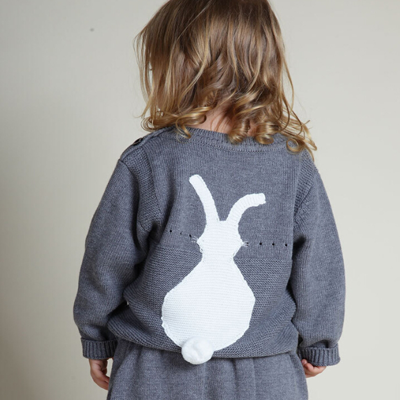 New-2017-Spring-Autumn-Bobo-Style-Girl-Boys-Sweater-Baby-Girls-Boy-sweater-Kids-Boutique-Knitted-Wool-Cartoon-Rabbit-sweater-3